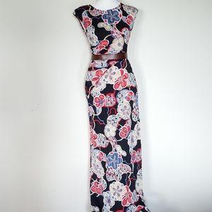 Rachael Dresses - Rachel and Chloe floral maxi dress size medium